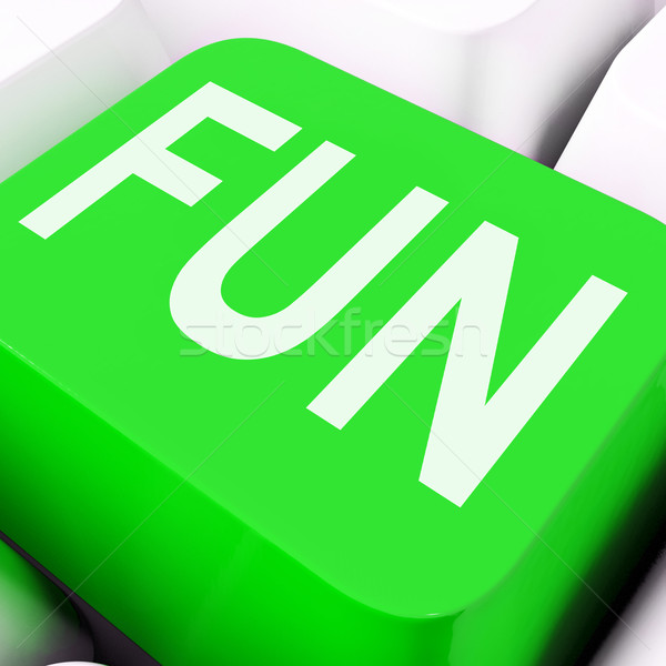 Fun Key Means Exciting Entertaining Or Joyful