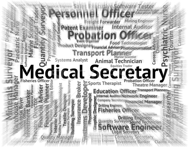 Medical Secretary Represents Personal Assistant And Pa Stock photo © stuartmiles
