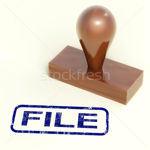 Foto stock: Arquivo · documentos · documentos