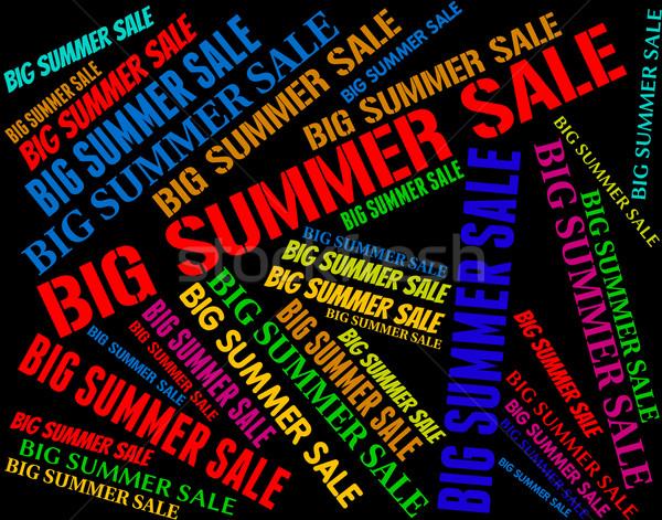 Büyük yaz satış sıcak hava durumu Stok fotoğraf © stuartmiles