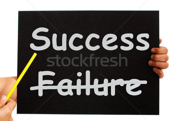 Success Board Showing Achievements Or Wealth  Stock photo © stuartmiles