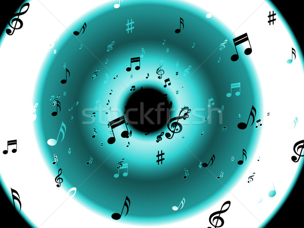 Notes de musique classique mélodie musique Photo stock © stuartmiles