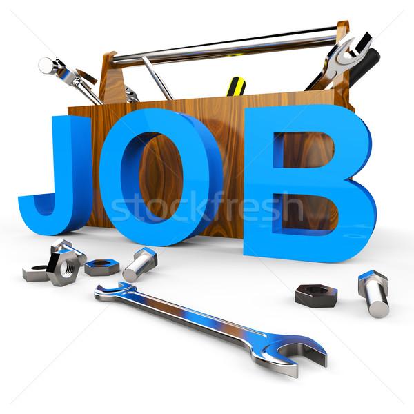 Zdjęcia stock: Pracy · słowo · mnie · kariery