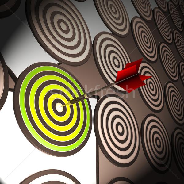 Сток-фото: целевой · точность · успешный · цель · мастерство
