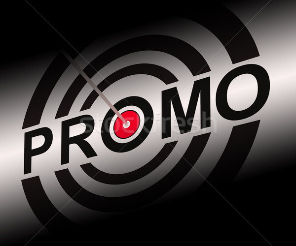 Promo Shows Bargain Advertisement Flyer Stock photo © stuartmiles