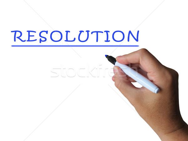 Palavra responder solução Foto stock © stuartmiles