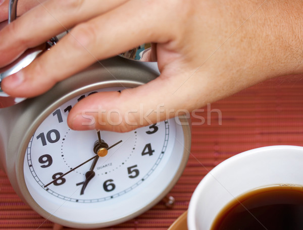 Getting Up Early To Go To Work Stock photo © stuartmiles