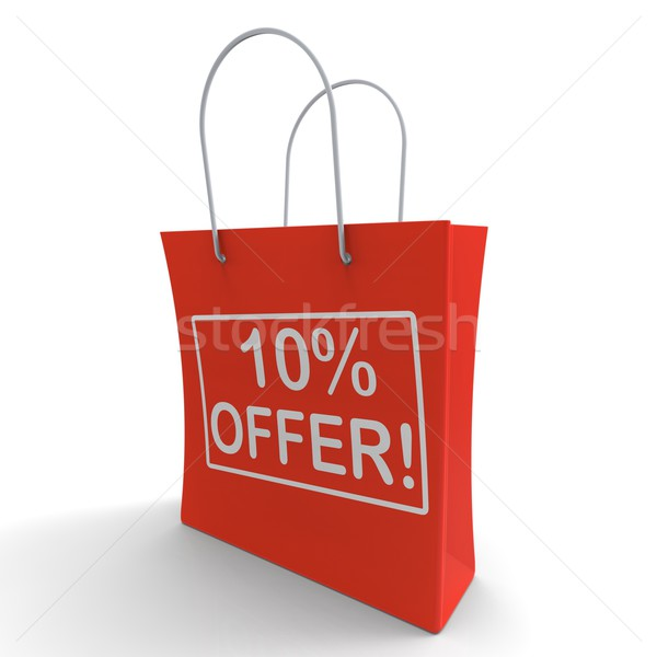 Ten Percent Off Shows Special Offer Stock photo © stuartmiles