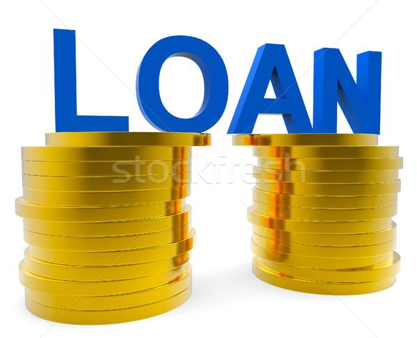 наличных заем дебетовая карточка смысл кредитных карт деньги Сток-фото © stuartmiles