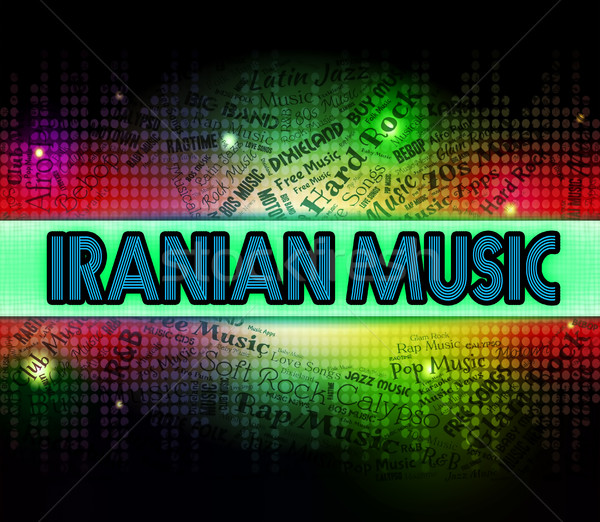 Iranian Music Represents Sound Track And Persia Stock photo © stuartmiles