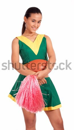 Cheerful Fit Cheer Leader Stock photo © stuartmiles