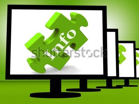 állások képernyő foglalkoztatás foglalkozások munkás állás Stock fotó © stuartmiles