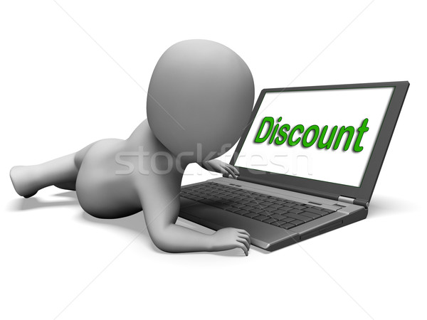 Discount Laptop Shows Sale Reduction Discount Or Clearance Stock photo © stuartmiles