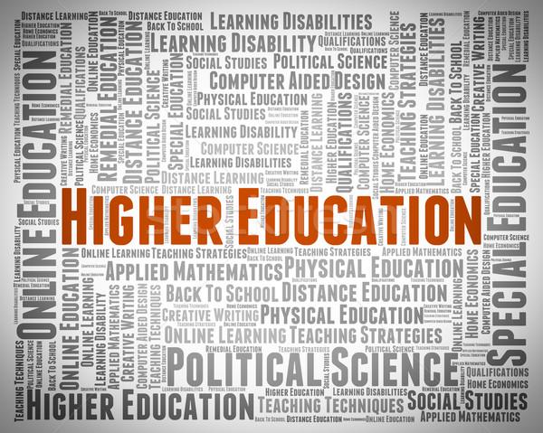 Bildung gebildet Lernen Studium Schule Ausbildung Stock foto © stuartmiles