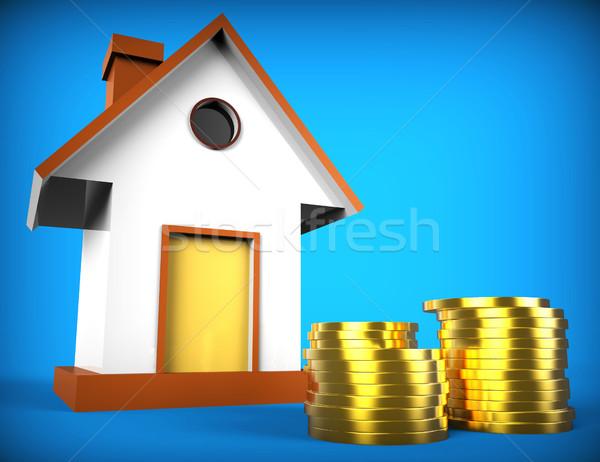 Gayrimenkul ipotek pazar borç Bina Stok fotoğraf © stuartmiles