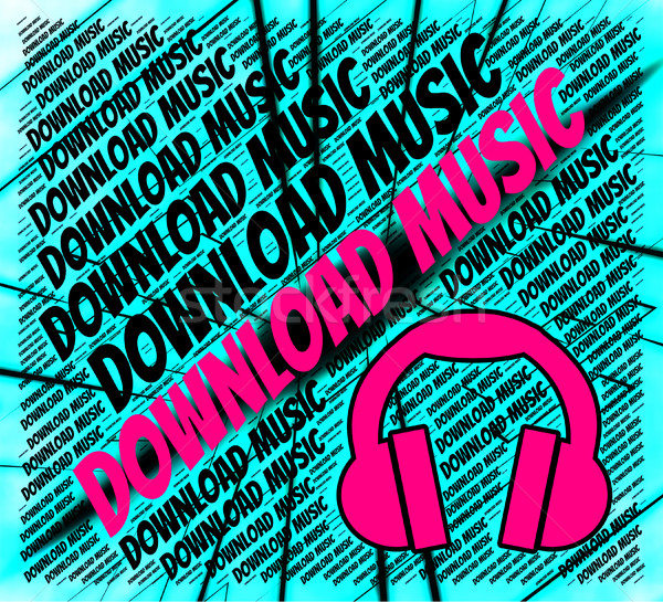 скачать музыку звук трек данные смысл Сток-фото © stuartmiles