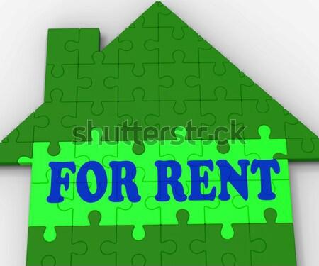 Empréstimo casa hipoteca comprar propriedade Foto stock © stuartmiles