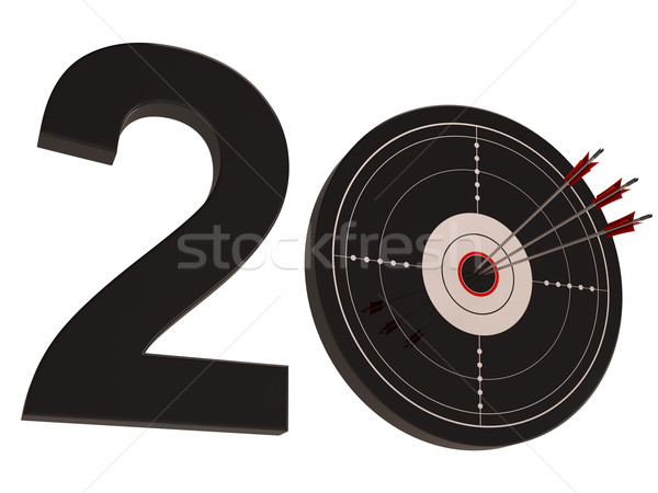 20 Shows Anniversary Or Birthdays Stock photo © stuartmiles