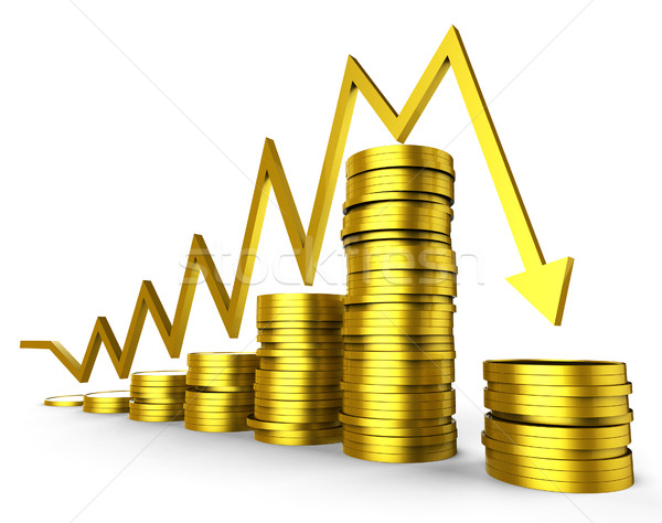 Business Recession Means Graphic Trading And Company Stock photo © stuartmiles