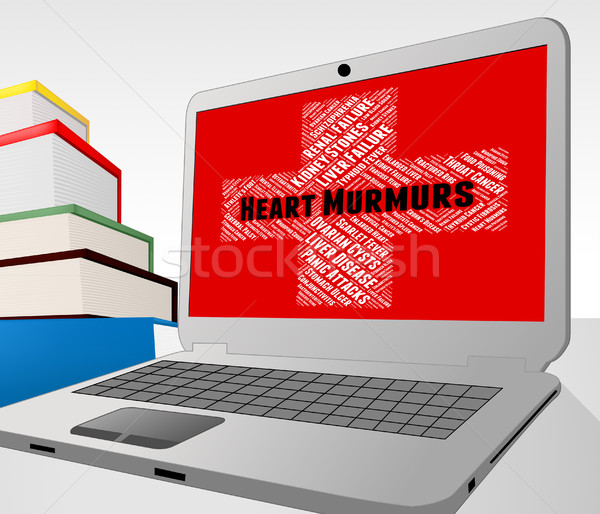Heart Murmurs Shows Ill Health And Ailments Stock photo © stuartmiles