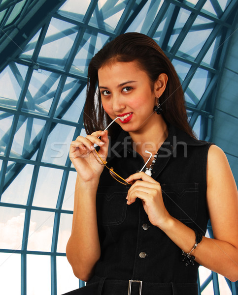 intelligent And Stylish Office Worker Stock photo © stuartmiles