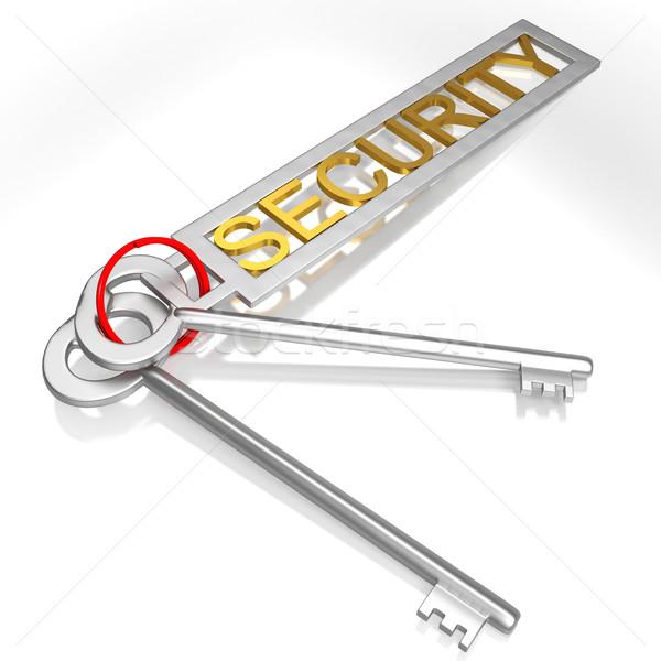 Biztonság kulcsok biztonságos zárolt széf mutat Stock fotó © stuartmiles