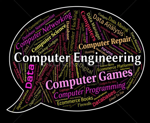 コンピュータ エンジニアリング 接続 コンピュータ インターネット ストックフォト © stuartmiles