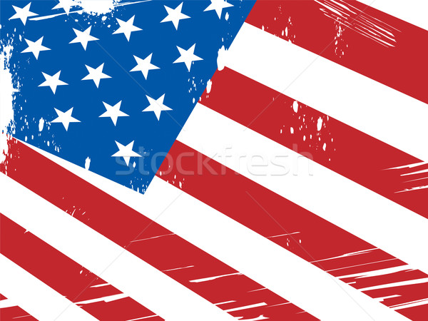 American Flag Background Means Patriotism And Nationalism Stock photo © stuartmiles