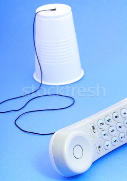 Telephones For Conversation Stock photo © stuartmiles