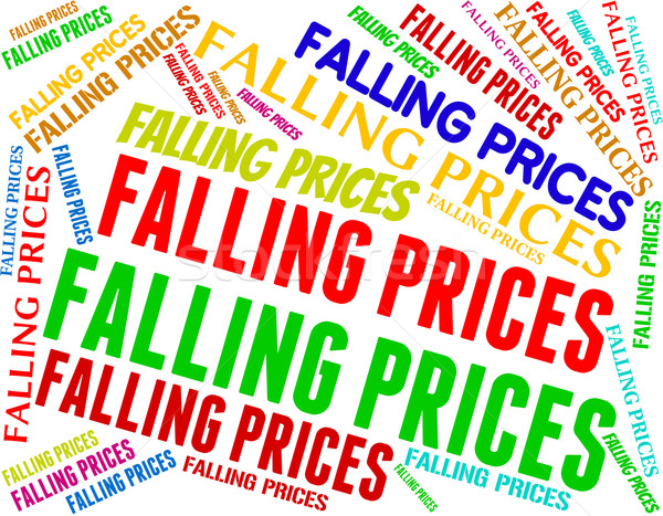 Falling Prices Shows Promo Lowering And Sales Stock photo © stuartmiles