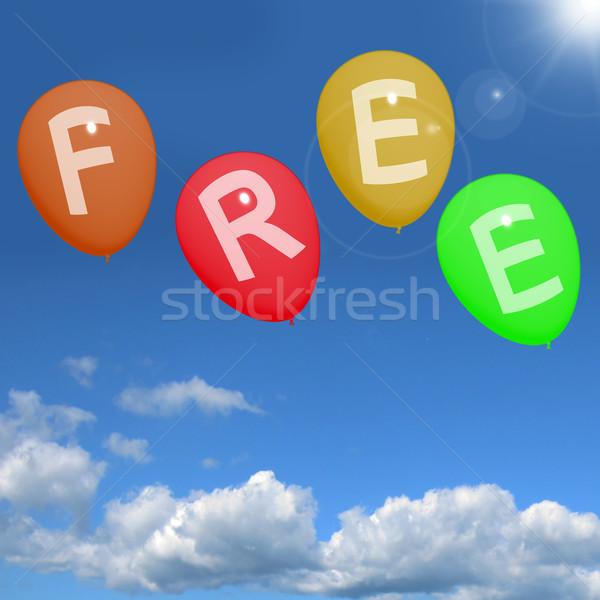 шаров небе правописание свободный Сток-фото © stuartmiles