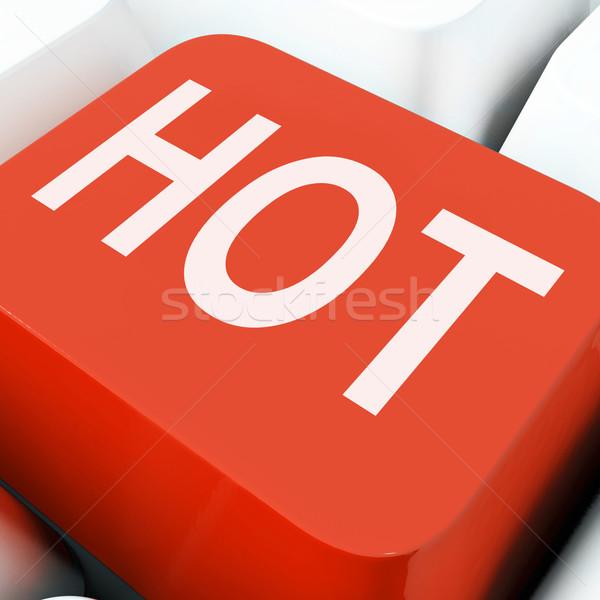 Sıcak tuşları göstermek fantastik muhteşem Stok fotoğraf © stuartmiles