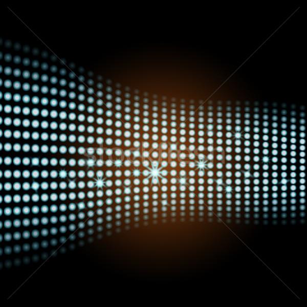 Fény négyzetek digitális illusztráció grafikus jelentés grafikai tervezés Stock fotó © stuartmiles