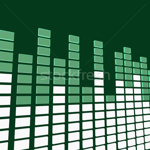 Zene hang útvonal üzleti grafikon nyereség pénzügy Stock fotó © stuartmiles