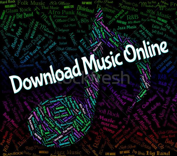 скачать музыку онлайн аудио смысл Сток-фото © stuartmiles