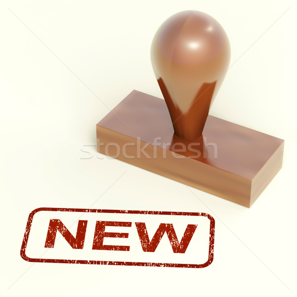 New Stamp Showing Promotion Or Introductory Offers Stock photo © stuartmiles
