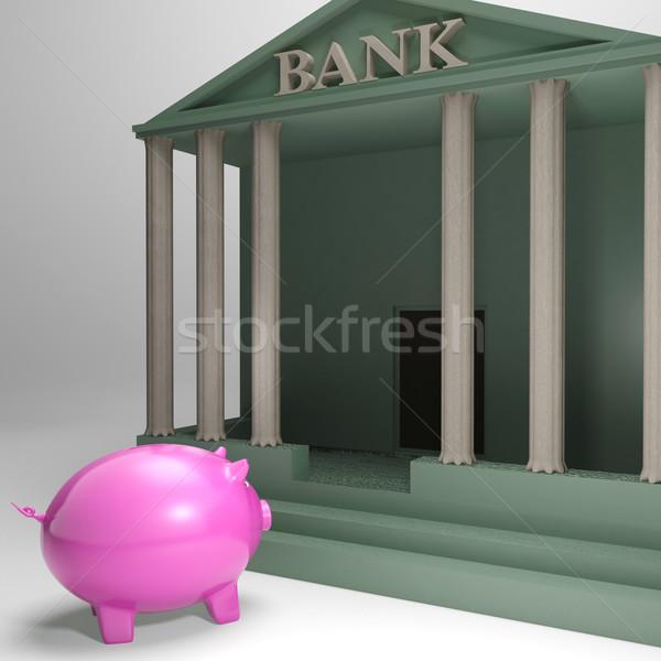 銀行 お金 ローン 金銭的な ヘルプ ストックフォト © stuartmiles