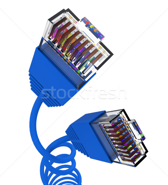 Internet Connection Represents Global Communications And Computer Stock photo © stuartmiles