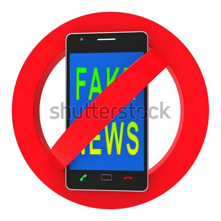 Phones Banned Indicates Prohibit Caution And Safety Stock photo © stuartmiles