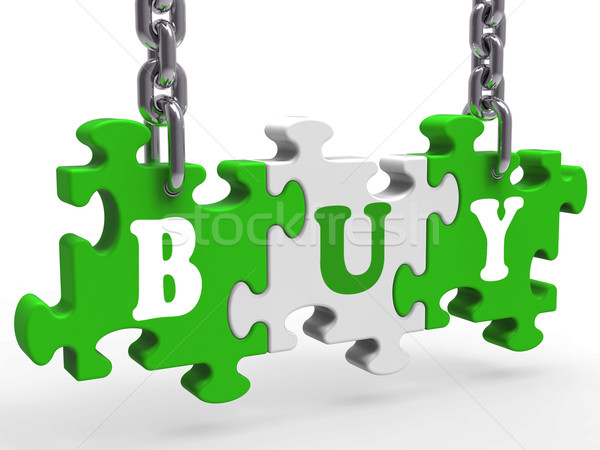 Buy Shows Commerce Trade Or Retail Purchasing Stock photo © stuartmiles