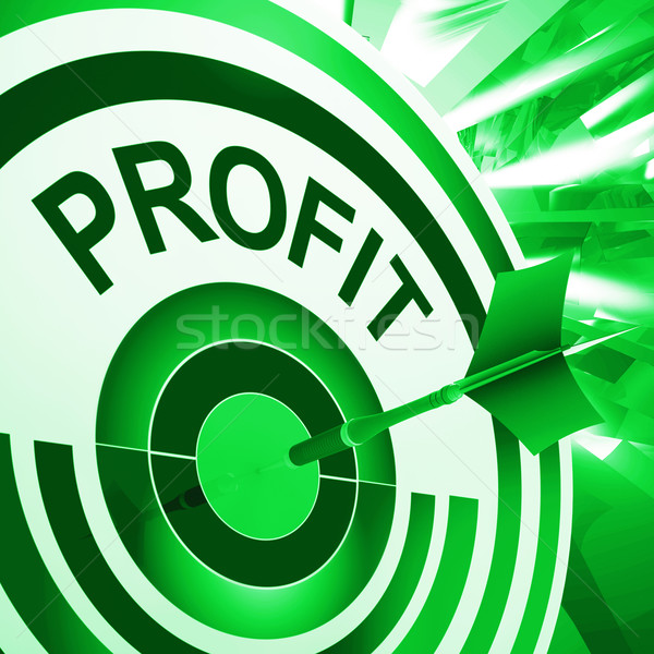 Profit Means Market And Trade Earning Stock photo © stuartmiles