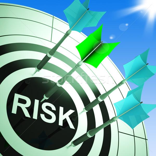 Risk tehlikeli kriz sorunları Stok fotoğraf © stuartmiles