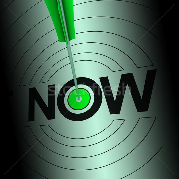 Foto stock: Agora · urgência · rápido · imediato · comunicar