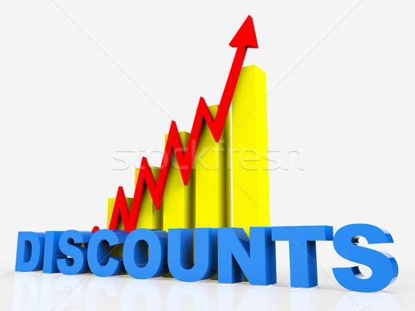 Big Discount Indicates Cut Rate And Data Stock photo © stuartmiles