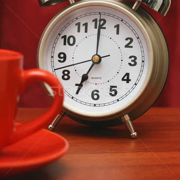 Getting Up At Seven In The Morning Stock photo © stuartmiles