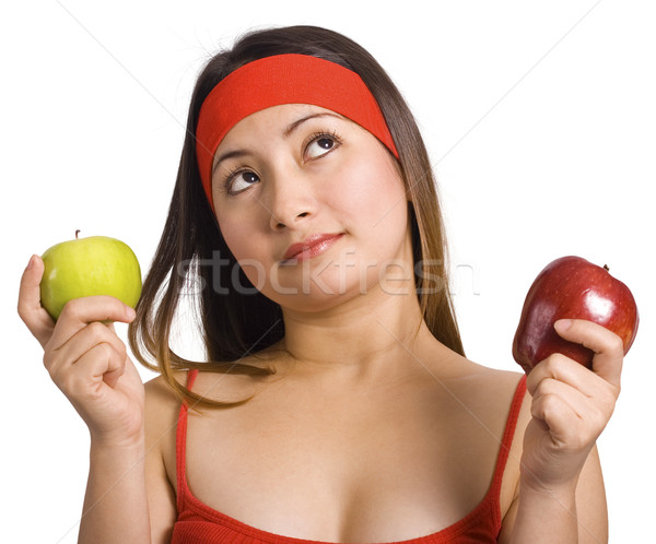Choosing And Deciding Which Apple Stock photo © stuartmiles