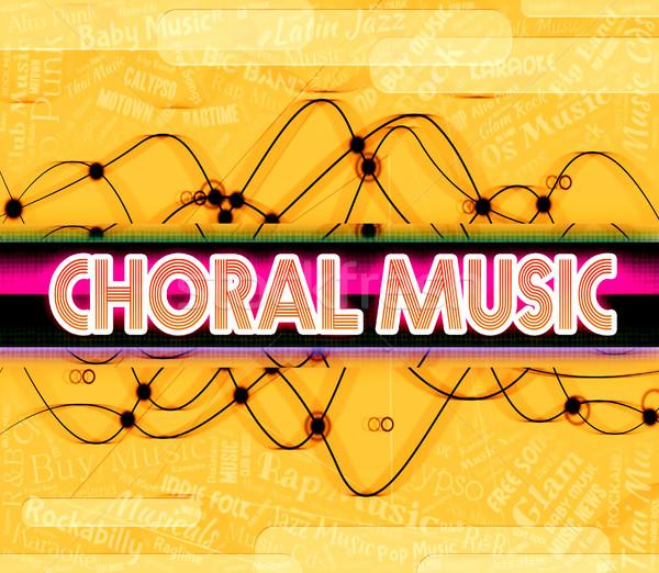 Música sonido tema religiosas canción Foto stock © stuartmiles