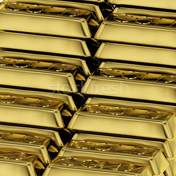 Gold Bars As Symbol For Wealth Or Fortune Stock photo © stuartmiles