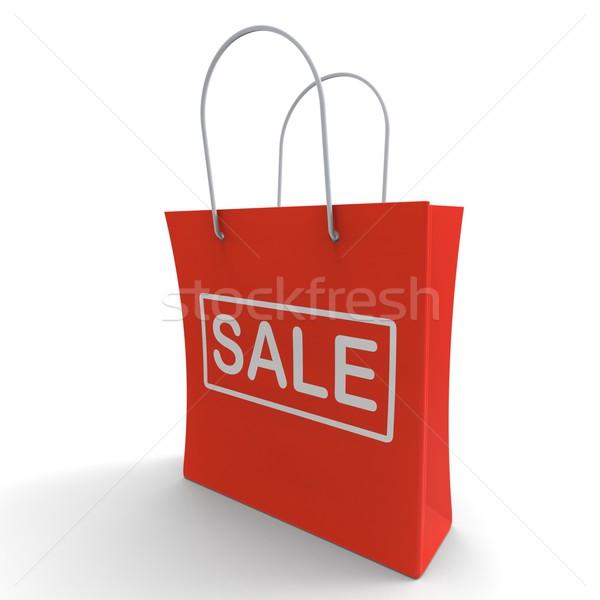 Sale Bag Shows Discount Or Promo Stock photo © stuartmiles