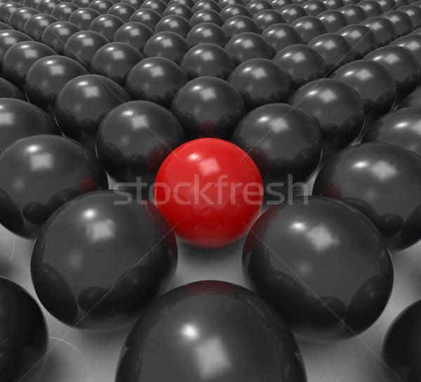 único esfera incomum variação diferença Foto stock © stuartmiles